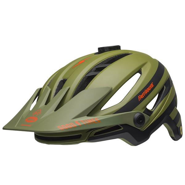 ベル ヘルメット シクサー ミップス BELL SIXER Mips ファストハウス マットグリーンオレンジ Mサイズ(55-59cm) 7096028