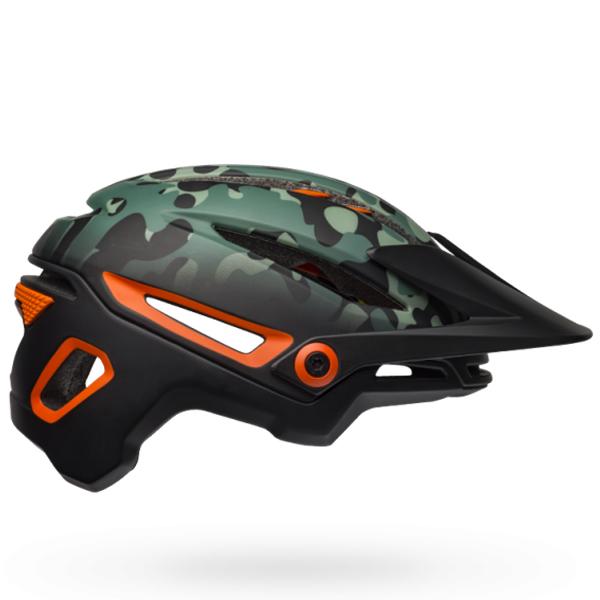 ベル ヘルメット シクサー ミップス BELL SIXER Mips ブラック/ダークグリーン/オレンシ Mサイズ(55-59cm) 7103241