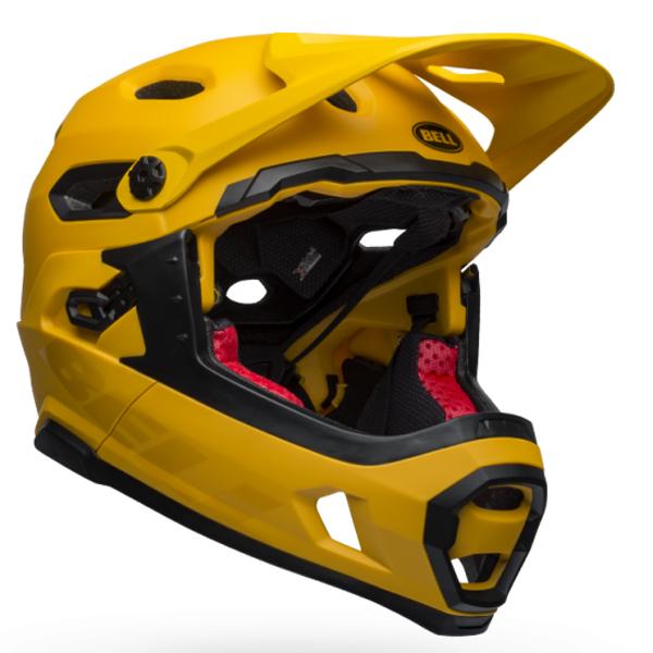 ベル フルフェイス ヘルメット スーパー DH ミップス BELL SUPER DH Mips イエロー/ブラック Mサイズ(55-59cm) 7101476