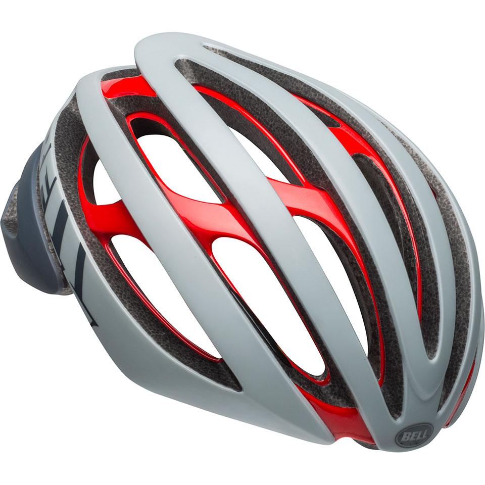 ロードバイク ヘルメット Z20 ミップス BELL Z20 Mips グレー/クリムゾン Mサイズ(55-59cm) 7104387