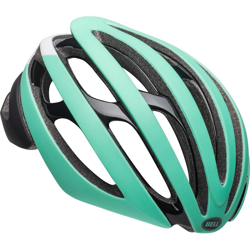 ロードバイク ヘルメット Z20 ミップス BELL Z20 Mips ブラック/ホワイト/ミント Lサイズ(58-62cm) 7099345