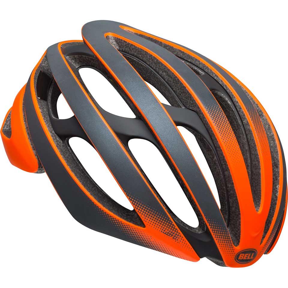 ロードバイク ヘルメット Z20 ミップス BELL Z20 Mips マット オレンジ/ブラック ゴースト Lサイズ(58-62cm) 7099381