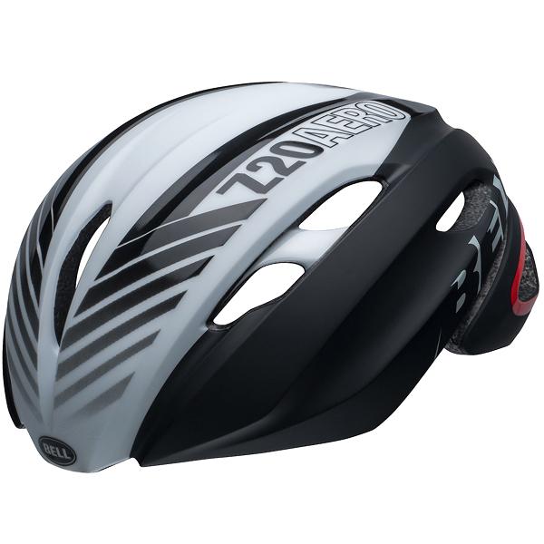 ロードバイク ヘルメット Z20 エアロ BELL Z20 AERO Mips ブラック/ホワイト/クリムゾン Sサイズ(52-56cm) 7105996