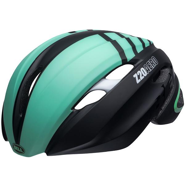 ロードバイク ヘルメット Z20 エアロ BELL Z20 AERO Mips ブラック/ミント/ホワイト Mサイズ(55-59cm) 7105988