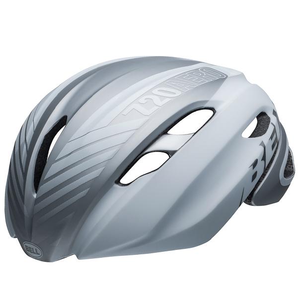 ロードバイク ヘルメット Z20 エアロ BELL Z20 AERO Mips ホワイト/シルバー Lサイズ(58-62cm) 7103818