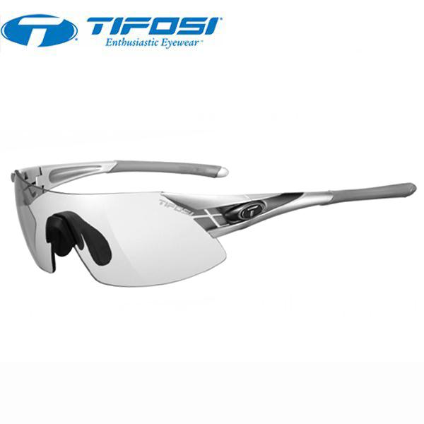 TIFOSI (ティフォージ) 自転車 サングラス PODIUM XC ポディウムXC シルバー/ガンメタル・ライトナイト フォトテック 1070306531