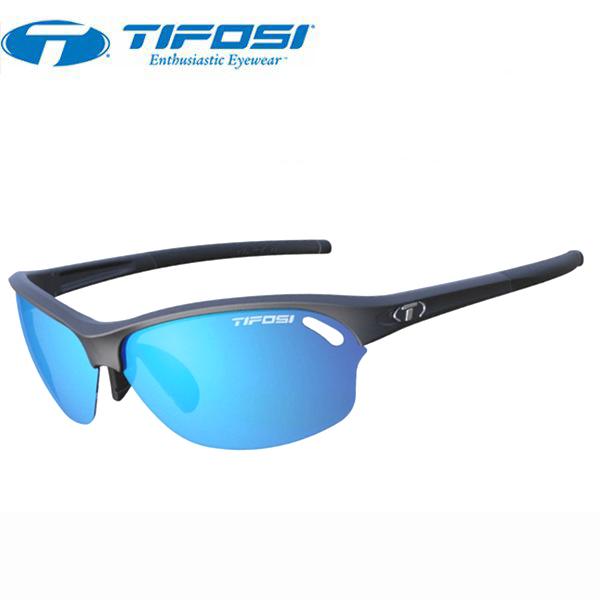 TIFOSI (ティフォージ) 自転車 サングラス WASP ワスプ マットブラック・クラリオンブルー/ACレッド/クリア 1280100122