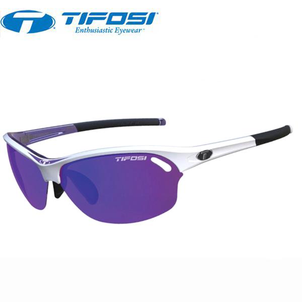 TIFOSI (ティフォージ) 自転車 サングラス WASP ワスプ レースパープル・クラリオンパープル/ACレッド/クリア 1280107823