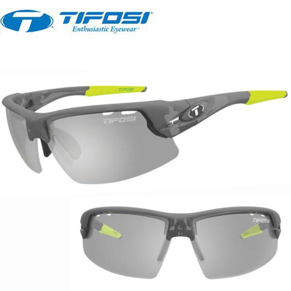 TIFOSI (ティフォージ) 自転車 サングラス CRIT クリット マットスモーク スモークフォトテック 1340302834