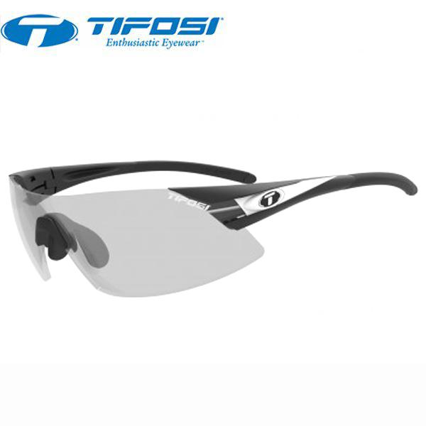 TIFOSI (ティフォージ) 自転車 サングラス ASIAN FIT PODIUM XC アジアンフィット ポディウムXC BK・ホワイト ライト ナイト フォトテック 8510304831