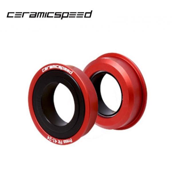 Ceramic Speed (セラミックスピード) Press-fit BB86 レッド 6200048