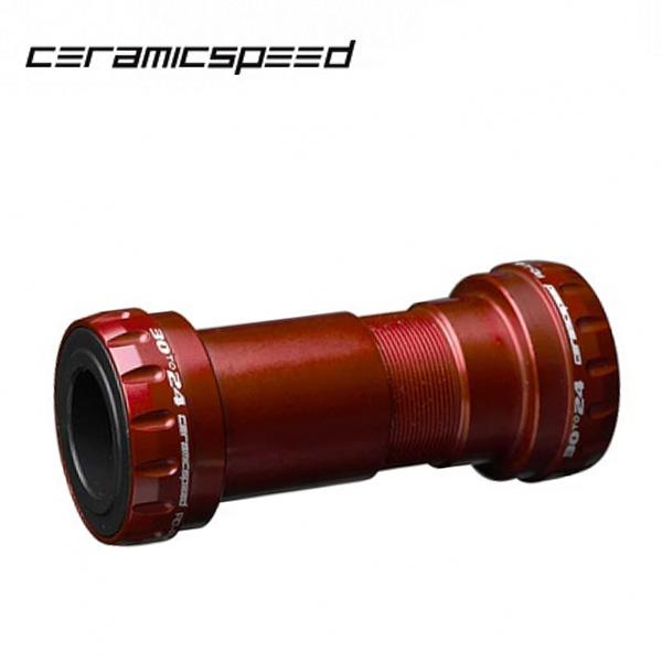 Ceramic Speed (セラミックスピード) BB BB30 to 24 レッド 【COATED】 6200074