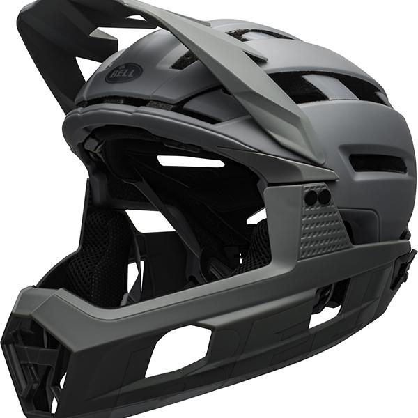 ベル スーパー AIR R ミップス BELL SUPER AIR R MIPS グレー L(58-62cm) マウンテンバイク ヘルメット