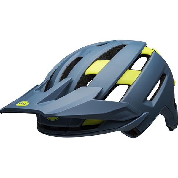 ベル スーパー AIR ミップス BELL SUPER AIR MIPS ブルー/ハイヴィズ L(58-62cm) マウンテンバイク ヘルメット