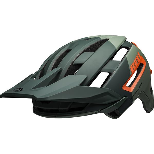 ベル スーパー AIR ミップス BELL SUPER AIR MIPS グリーン/インフラレッド M(55-59cm) マウンテンバイク ヘルメット