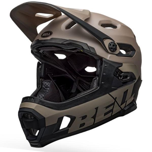 ベル スーパー DH ミップス BELL SUPER DH MIPS サンド/ブラック Lサイズ(58-62cm) マウンテンバイク ヘルメット