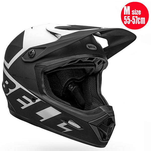 BELL ベル トランスファー BELL TRANSFER マット ブラック/ホワイト M(55-57cm) BMX マウンテンバイク ヘルメット