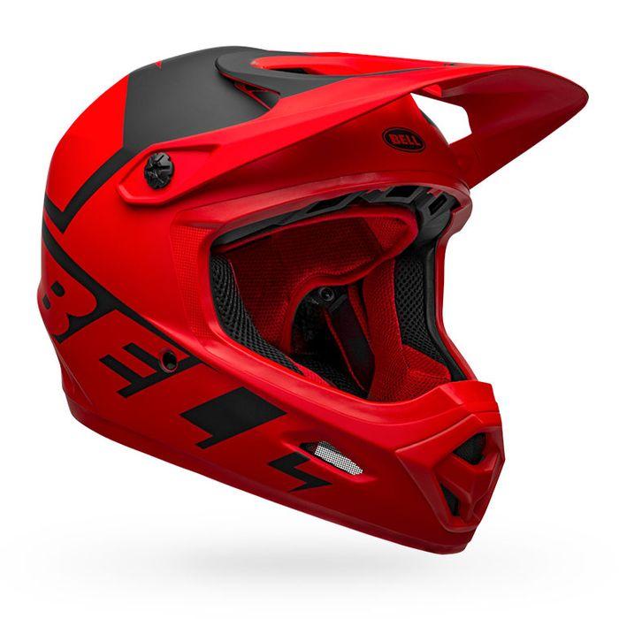 BELL ベル トランスファー BELL TRANSFER マット レッド/ブラック L(57-59cm) BMX マウンテンバイク ヘルメット