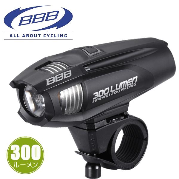 BBB ストライク 300 [BLS-71] 28605 ブラック ヘッドライト LED