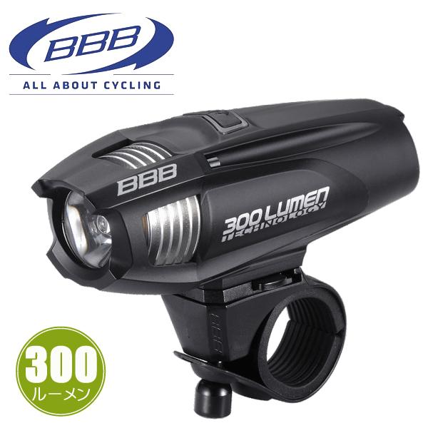 BBB ストライク 300 [BLS-71] 28626 ブラック ヘッドライト LED