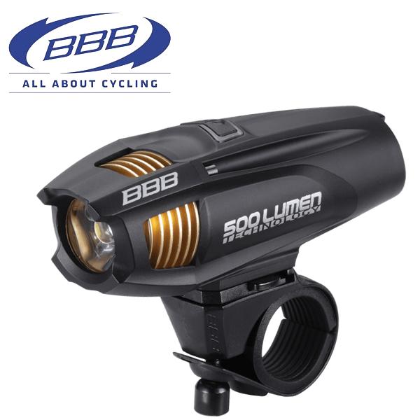 BBB ストライク 500 [BLS-72] 28608 ブラック ヘッドライト LED