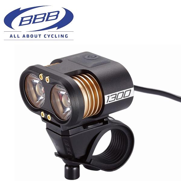 BBB ヘッドライト スコープ 28620 ブラック 1300ルーメン LED