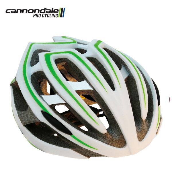 キャノンデール ヘルメット テラモ CANNONDALE TERAMO WHT/GRN S/M(52-58cm) CH081016U43SM 自転車