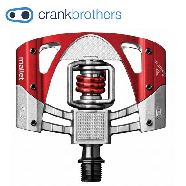CRANKBROTHERS (クランクブラザーズ) マレット3 レッド 574625 ビンディング ペダル