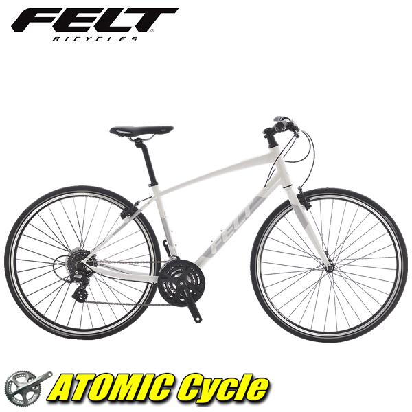 2018 FELT フェルト Verza Speed50 ヴェルザ スピード グロスパールホワイト クロスバイク