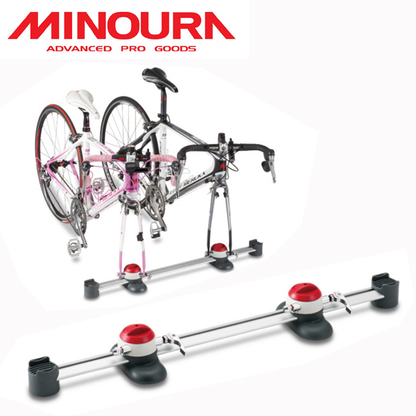 MINOURA VERGO-TF2 (ミノウラ ヴァーゴ TF2) 自転車搭載ベース(2台用) (ホイールサポート1台つき) 01423315000