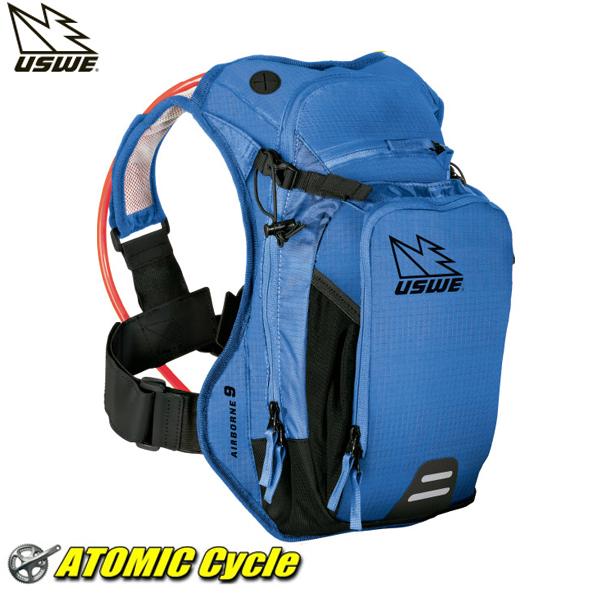 USWE (ユースウィー) AIRBORNE 9 レースブルー バック パック サイクリング バック