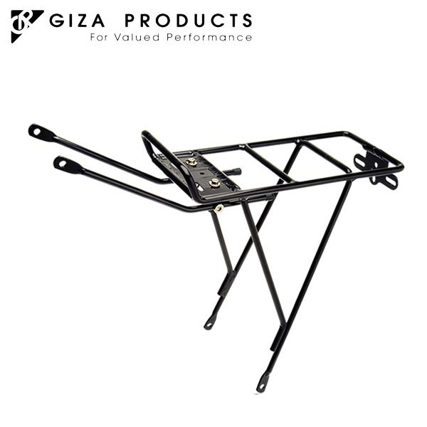 GIZA ハイクオリティ PRODUCTS ギザ プロダクツ CAR096 正規品送料無料 BLK リアキャリアー CAR09600 キャリアー リア
