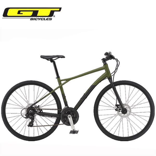 2019 GT クロスバイク トラフィック コンプ TRAFFIC COMP グリーン