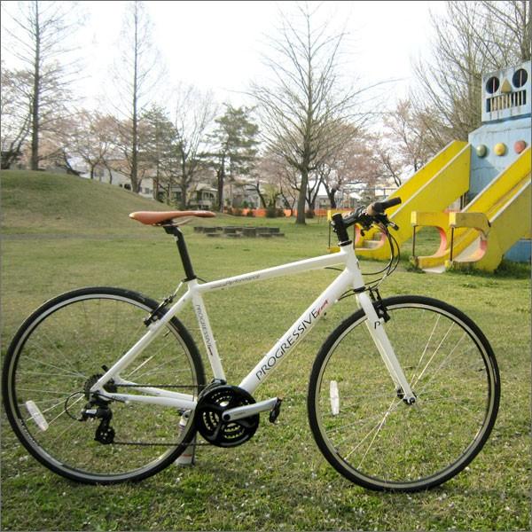 【即納】 【在庫あり】 プログレッシブ クロスバイク PROGRESSIVE Racing (プログレッシブ レーシング) FRD-180 ホワイト 【クロスバイク】 【自転車】 【【02P03Dec16】 ★】