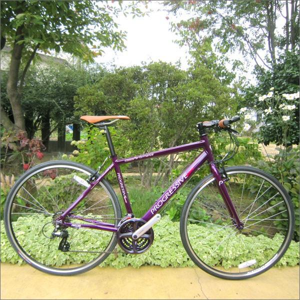 【即納】 【在庫あり】 プログレッシブ クロスバイク PROGRESSIVE Racing (プログレッシブ レーシング) FRD-180 ダークパープル 【クロスバイク】 【自転車】 【【02P03Dec16】 ★】