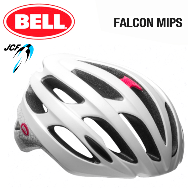 ★ 【BELL ヘルメット】 「BELL FALCON MIPS ベル ファルコン ミップス」 ファルコン ミップス マットホワイト/スモークディゾルブ M