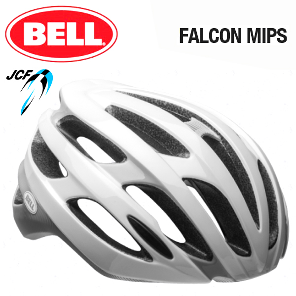 ★ 【BELL ヘルメット】 「BELL FALCON MIPS ベル ファルコン ミップス」 ファルコン ミップス マットホワイトスモーク XL