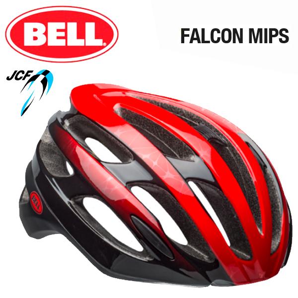 ★ 【BELL ヘルメット】 「BELL FALCON MIPS ベル ファルコン ミップス」 ファルコン ミップス マットレッド/ブラック L