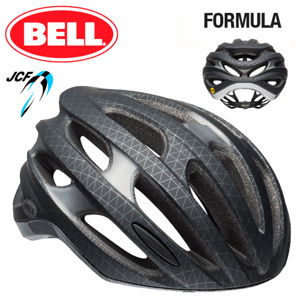 ★ 【BELL ヘルメット】 「BELL FOMULA MIPS ベル フォーミュラ ミップス」 フォーミュラ ミップス マットブラック/ガンメタル L