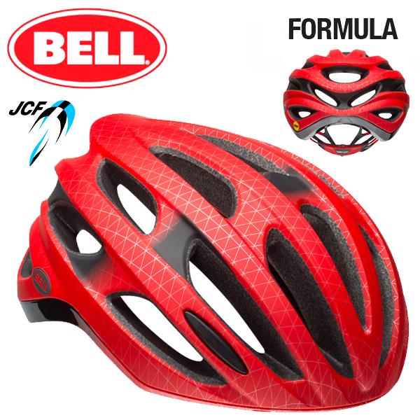 ★ 【BELL ヘルメット】 「BELL FOMULA MIPS ベル フォーミュラ ミップス」 フォーミュラ ミップス マットレッド/ブラック L