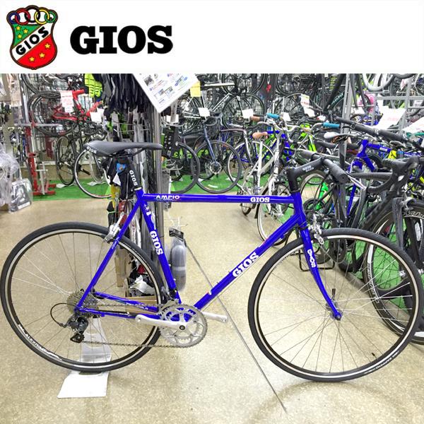 GIOS AMPIO 「ジオス アンピーオ」 Gios ブルー 2018 クロスバイク/フラットバー ロード/クロモリ フレーム