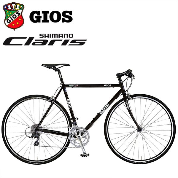 GIOS AMPIO 「ジオス アンピーオ」 ブラック 2018 クロスバイク/フラットバー ロード/クロモリ フレーム