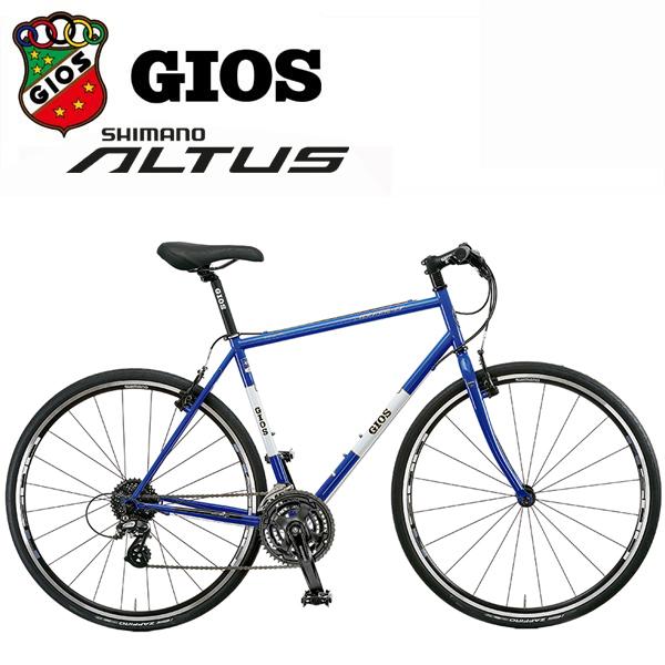 ジオス ミストラル クロモリ 「GIOS MISTRAL CHROMOLY」 2018 Gios ブルー クロスバイク
