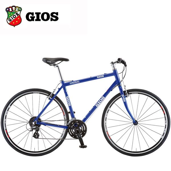 2018 GIOS (ジオス) MISTRAL ミストラル Gios ブルー クロスバイク