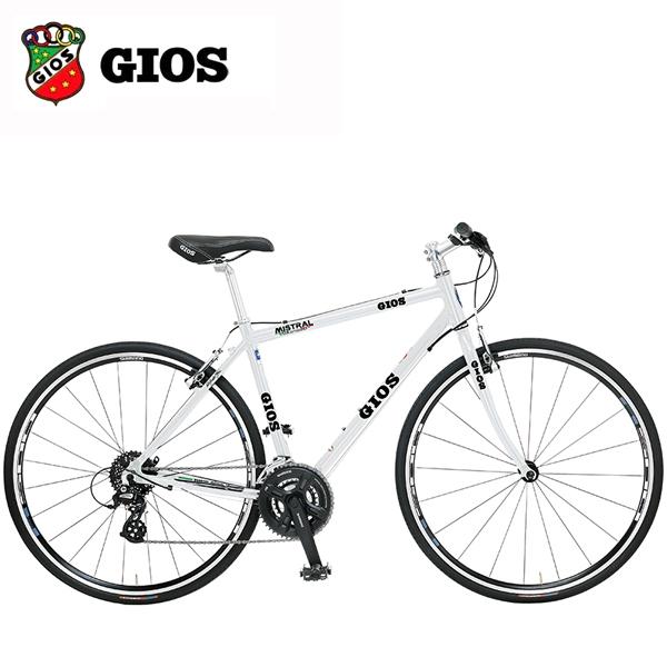 2018 GIOS (ジオス) MISTRAL ミストラル ホワイト クロスバイク