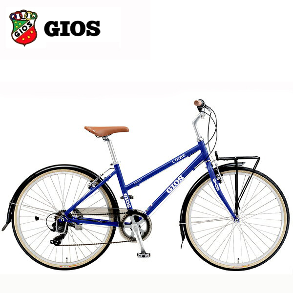 2018 GIOS ジオス LIEBE (リーベ) ジオス ブルー クロスバイク