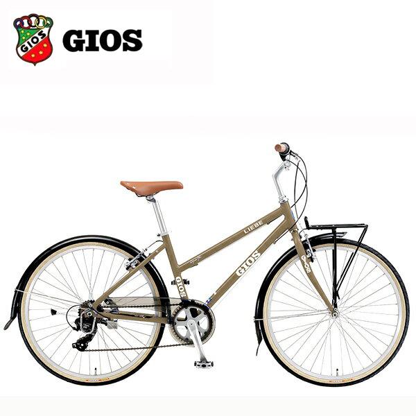 日本最級 2019 GIOS GIOS ジオス クロスバイク 2019 LIEBE (リーベ) ライトブラウン クロスバイク, 激安輸入雑貨通販の店WILMART:58b4f1f4 --- paulogalvao.com