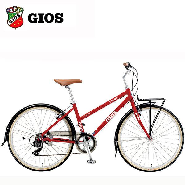 2019 GIOS ジオス LIEBE (リーベ) レッド クロスバイク