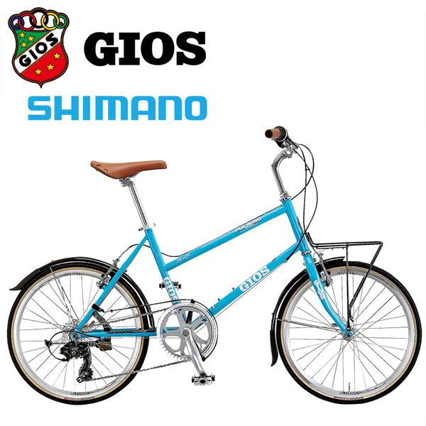 GIOS ジオス ミニベロ PULMINO ジオス プルミーノ P ブルー 小径車