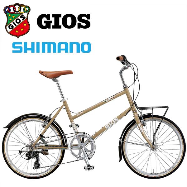 GIOS ジオス ミニベロ PULMINO ジオス プルミーノ ブラウン 小径車